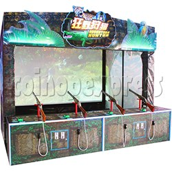 Adventure Hunter Shooting Arcade Game (4 players)