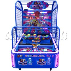 Double Shot Basketball Machine (2 players)