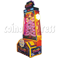 Golden Gear Skill Test Ticket Redemption Arcade Machine