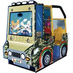 BoBo Jeep Video Kiddie Ride (2 players)