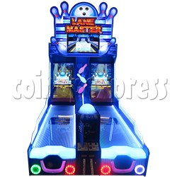 Lane Master Alley Video Bowling Machine Twin