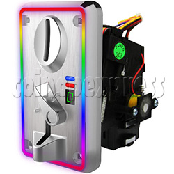 Comparable Electronic Coin Mech With Color Changed Front Panel