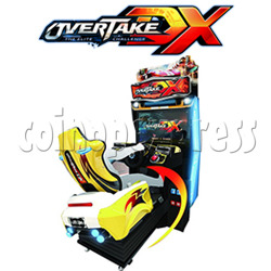Overtake DX Arcade Driving Game Machine