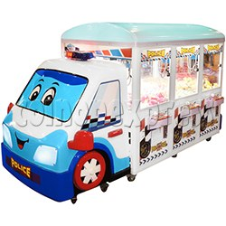 Police Car Crane Machine (6 players version)