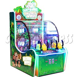Big Teeth Monkey Shooting Game Ticket Redemption Machine