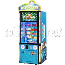 Pin Up Skill Test Redemption Machine Ticket Version