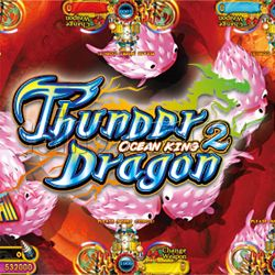 Ocean King 2 Thunder Dragon Video Redemption Fish Hunter Full Game Board Kit China Release Version