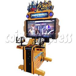 Transformers: Human Alliance Upright Arcade Shooting Game Machine