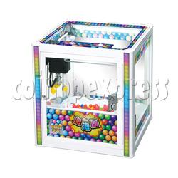 Bubble House Crane machine with Mini Square Cabinet