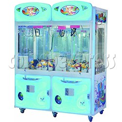 Baby Bear Crane Machine ( 2 players Plastic Front )