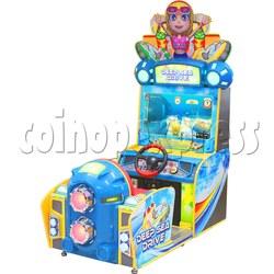 Deep Sea Drive Boat Racing Game Machine Single player