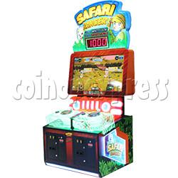 Safari Ranger 2 Player Ticket Redemption Game Machine SD
