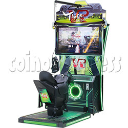 Tiger Knight VR Coin Operated Horse Racing Simulator Game machine