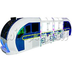 High-Speed Train Happy Travel Crane Games Machine (8 players)
