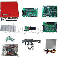 Rambo Arcade Machine Full Game Board Kit