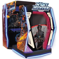 Night Hunter 4D Gun Shooting Simulator