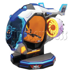 Sky Guardian Rotating Video Kiddie Ride (2 players)