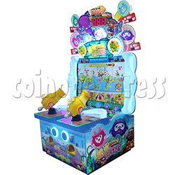 Bubble Monster Laser Gun Shooting Game machine