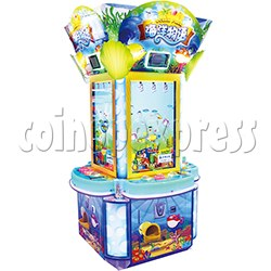 Ocean Park Feeding Fish Redemption Game machine ( 4 players)