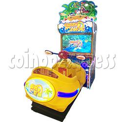 Crazy Rowboat Video Racing Game Kiddie Ride