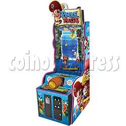 Pirate Falls Skill Test Video Game Machine