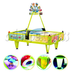 Top World Coin Operated Air Hockey ( 4 players) -Taiwan Version