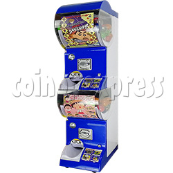 Coin-operated Double Toy Capsule Vending Machine