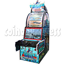 Fishing Wheel Game Ticket Redemption Machine with 32 inch LCD screen