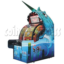Sail Fish Wheel Redemption Game Machine
