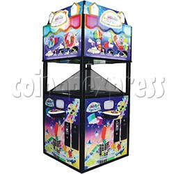 Fantasy Space Holographic Style Redemption Game machine