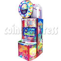 Candy Fall Skill Test Redemption Machine