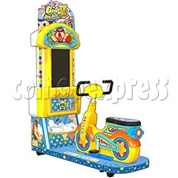 Go Go Bicycle Racing Video Game machine for Kid