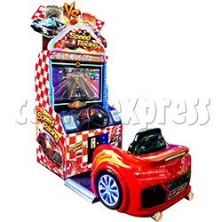 Speed Racing Collecting Card Game Machine
