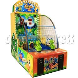 Frog VS Duck Water Shooter Game Machine