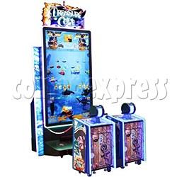 Treasure Cove Fishing Ticket Redemption Machine 2 players