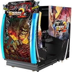 Monster Eye 2 5D Motion Theatre Arcade Machine
