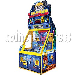 Despicable Me Jelly Lab Coin Roll Down Arcade Game machine