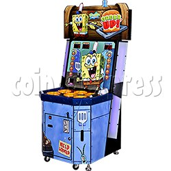 SpongeBob Order Up - Whack at a Classic game machine