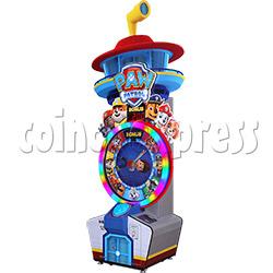 Paw Patrol Wheel Game Ticket Redemption Machine