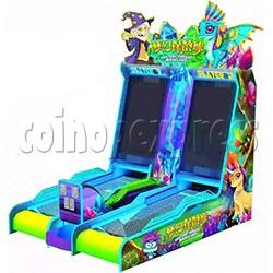 Mini Fantasy Bowling Video Redemption Machine