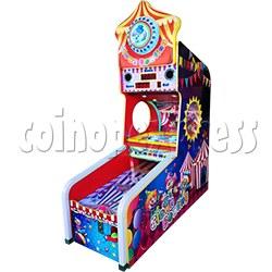 Clown Bowling Tickets Redemption Machine