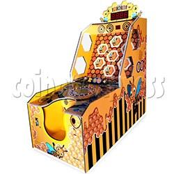 Hoopla Bee Ticket Redemption Arcade Machine