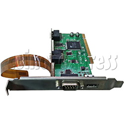 PCI JVS I/O Board for Wangan Midnight Maximum Tune 3 DX Plus Game Machine-Part No.PRT N-050
