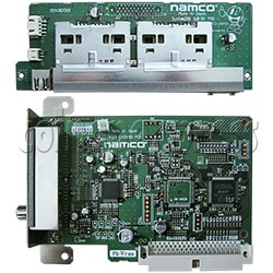 Namco PCB system 256 & PCB Exsound for Time Crisis 4