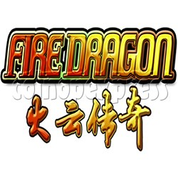 Fire Dragon Fish Game Full Game Board Kit