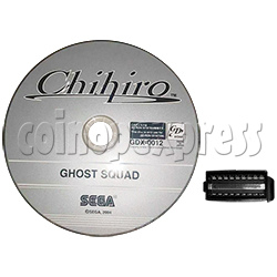 Sega Disk with Security Chip for Ghost Squad