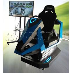 3D Racing Car Game Virtual Reality Arcade Gaming Simulator machine