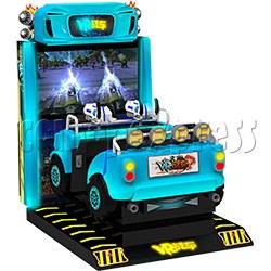 VR Chariot Driving Arcade Machine