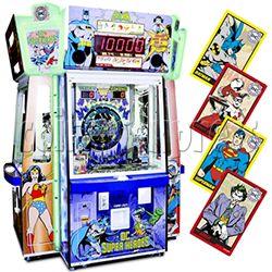 DC Super Heroes 4 Player Arcade Game Machine