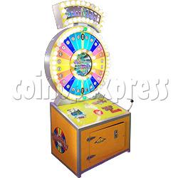 Spin N Win Giant Ticket Redemption Machine